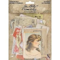 Tim Holtz - Idea-ology - Ephemera - Keepsakes